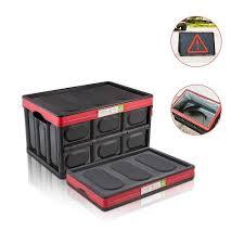 Multi-function Collapsible <b>Car Trunk</b> Organizer And <b>Storage Box</b> ...