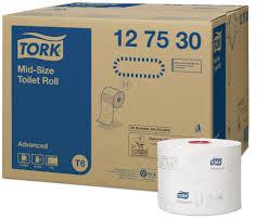 Tork <b>туалетная бумага</b> Mid-size в миди-рулонах   127530 ...