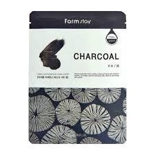 <b>Тканевая маска FarmStay</b> Visible Difference Mask Sheet Charcoal ...