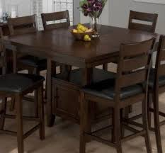 furniture america carlson piece dining counter height kitchen tables with storage taylor  piece butterfly lea