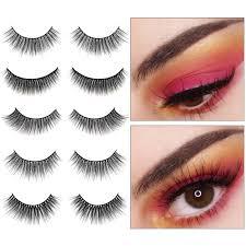 2020 New <b>Fashion 3 pairs natural</b> false eyelashes fake lashes long ...