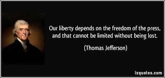 Thomas Jefferson On Freedom Quotes. QuotesGram via Relatably.com