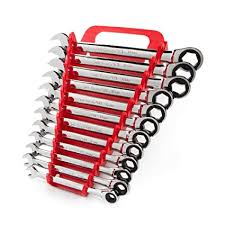 TEKTON WRN53170 Ratcheting Combination Wrench Set with ...