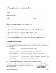 good paralegal job description resume   singlepageresume com    description for resume qualifications paralegal assistant self appraisal job performance evaluation