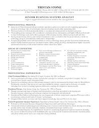 business systems analyst resume com business systems analyst resume to get ideas how to make appealing resume 4