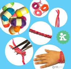 <b>DIY</b> 1-2-<b>3</b> Easy Twist & Fold Bracelets! | kidCourseskidCourses.com