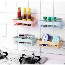 Bathroom Kitchen Rectangular <b>Storage</b> Shelf Holder <b>Organizer</b> ...
