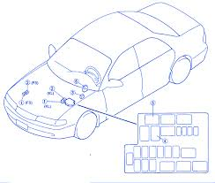 mazda 626 2002 engine side fuse box block circuit breaker diagram mazda 626 2002 engine side fuse box block circuit breaker diagram