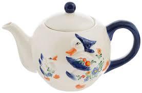 """<b>Чайник заварочный Loraine</b> """"Гуси"""", <b>950</b> мл. 21575 — купить в ..."""