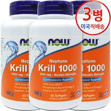 [Now Foods] Now Foods <b>Neptune Krill Double</b> Strength <b>1000</b> mg 60 ...