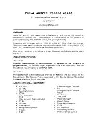 resume update word resume update word  paola andrea forero bello brentwood terrace  nashville tn         chemistpao