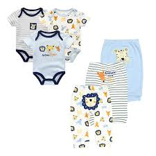 <b>6PCS</b>/<b>lot Newborn baby</b> rompers Cartoon baby jumpsuit Cotton ...