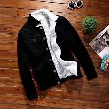 <b>ZOGAA 2019 New Men</b> Fashion Wool Thick Warm Denim Jacket ...