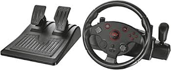 <b>Trust</b> Gaming <b>GXT 288</b> Taivo Gaming Steering Wheel with Pedals ...