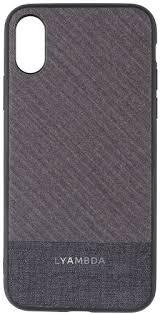 <b>Чехол LYAMBDA Europa</b> для iPhone Xr Grey Strip (LA05-ER-XR-GR)