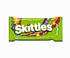 Купить <b>Конфеты жевательные Skittles</b> Кисломикс, 38 г с ...