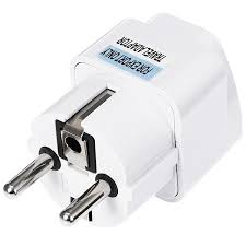 <b>gocomma EU Plug 2</b> Feet Standard Travel Power Adapter Charger ...