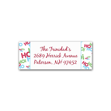 printable christmas address label template santa inspired printable christmas address label santa theme