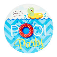 striking pool party invitation template word kids party small pool party invitation for kids