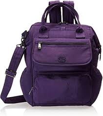 Lug Women's via Backpack Travel Tote, Concord ... - Amazon.com