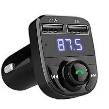 JSTBUY LABEL Hands-Free <b>Wireless Bluetooth FM Transmitter</b> 2.1 ...