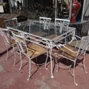 salterini 1928 1953 wrought iron outdoor patio furniture f635 antique rod iron patio
