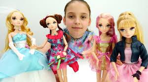 Видео для детей. Красивые <b>куклы Sonya Rose</b>. Показ мод ...