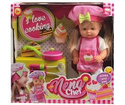 <b>Dimian Кукла Nena</b> Шеф-повар 36 см - Акушерство.Ru