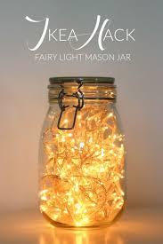 ikea hack fairy light mason jar daydream in blue bedroom lighting ideas christmas lights ikea