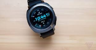 Samsung Gear <b>Sport</b> review: <b>running</b> in circles - The Verge