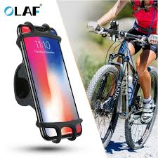 <b>OLAF Universal Bicycle Silicone</b> Phone Holder Support Telephone ...