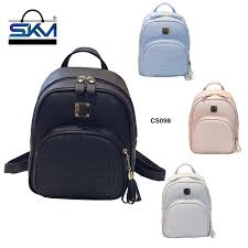 SKM CS 098 Korean <b>Premium</b> Pu Leather Bagpack <b>Women Travel</b> ...