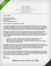 cover letter example bank teller park bank teller sample resume