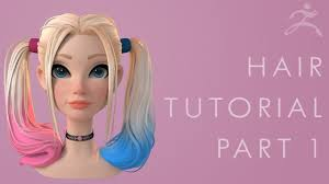 Zbrush <b>Hair</b> Tutorial Part 1 - Breaking Down the <b>Concept</b> - YouTube