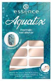 Купить <b>наклейки для ногтей</b> essence <b>Aquatix</b> Mermaid Nail Sticker ...