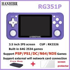 Super Promo #9b9972 - <b>NEW RG351P ANBERNIC Retro</b> Game ...