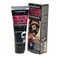 <b>Маска</b>-<b>пленка</b> для кожи <b>лица</b> Compliment <b>Black</b> Mask Co-Enzymes ...