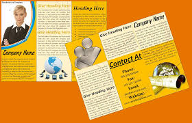 6 brochure templates for word itinerary template sample word templates templates plus brochure