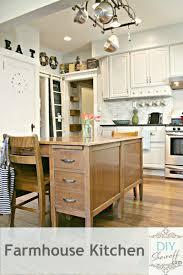 inspired kitchen cdab white brown: diy show off farmhouse kitchen makeover