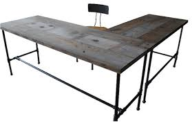chic reclaimed office desk magnificent inspiration interior home design ideas chic wood office desk