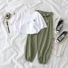 Spring <b>summer 2019</b> new chiffon casual <b>wide</b> leg pants <b>women</b> high ...