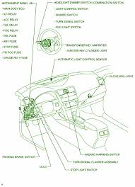 1999 camry le fuse box 1999 wiring diagrams