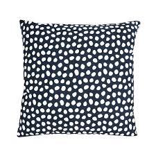 <b>Чехол для подушки</b> из хлопка с принтом Funky dots, <b>темно</b>-серый ...