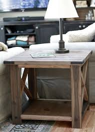 ana white build a rustic x end table free and easy diy project and ana white build diy apothecary style