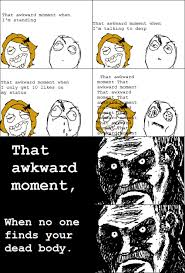 Rage Face - That awkward moment via Relatably.com