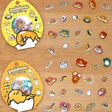 <b>60 PCS</b>/<b>Pack</b> Lazy Egg <b>Sealing</b> Stickers Diary Label Stickers Pack ...