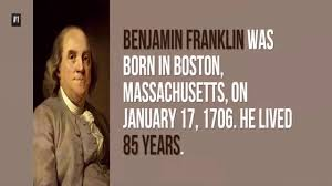 「Benjamin Franklin in later life」の画像検索結果