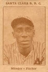 1923 Tomas Gutierrez Jose Mendez #8 Baseball Card - 55401