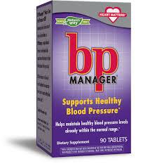 <b>BP Manager</b>™ / <b>90 tabs</b> - Nature's Way®.