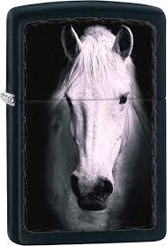 <b>Зажигалки Zippo</b> Z_218-White-Horse | www.gt-a.ru